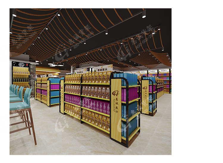 圆角直角钢木超市货架_29.jpg