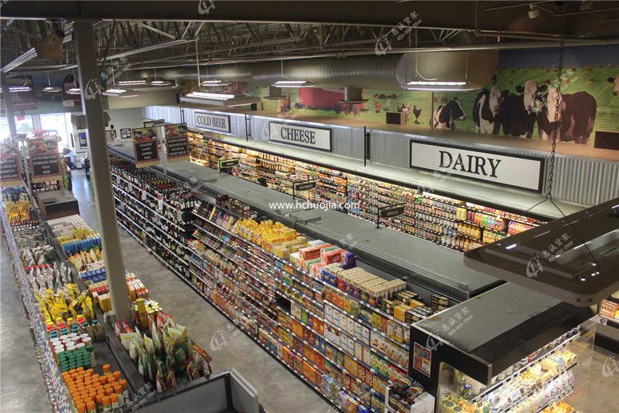 超市货架-精品超市货架