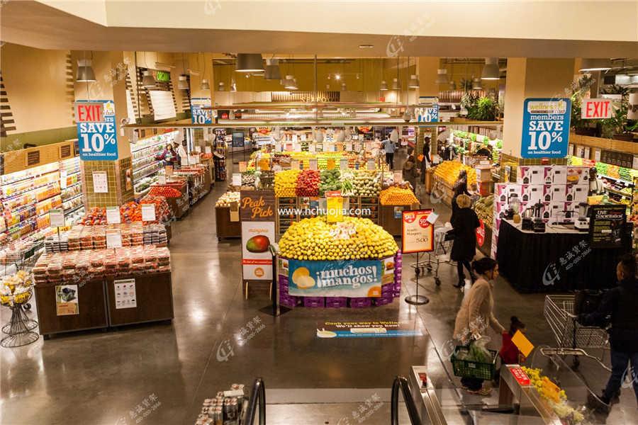 超市便利区域划分图2