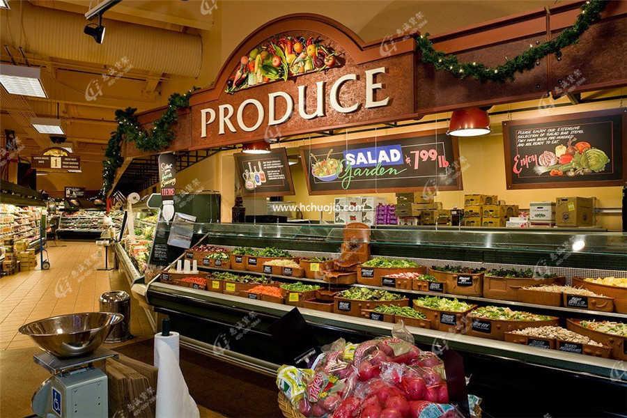 超市水果货架
