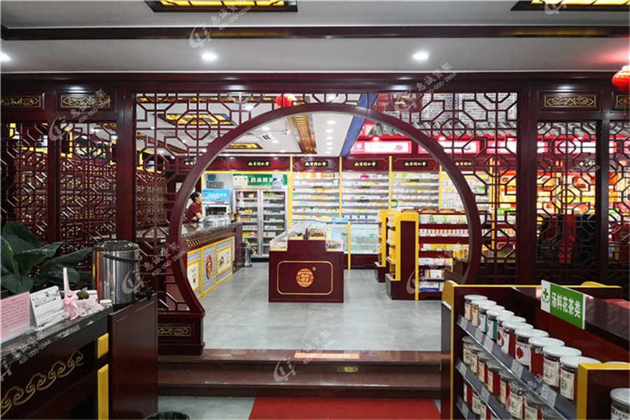 中药柜|药店货架
