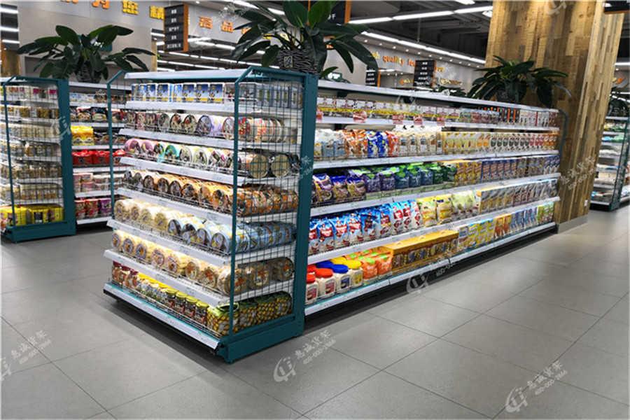生鲜超市货架