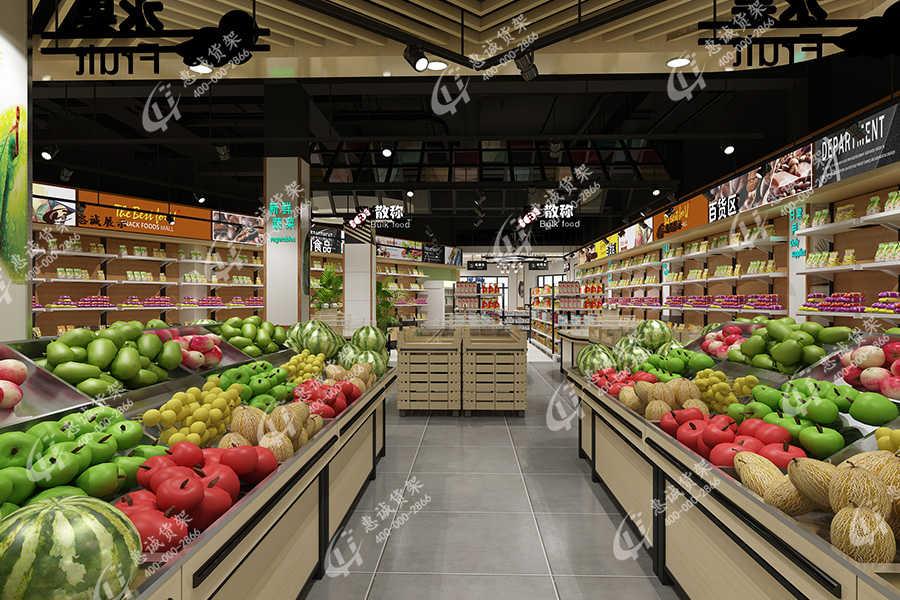 水果架|生鲜货架|蔬菜货架