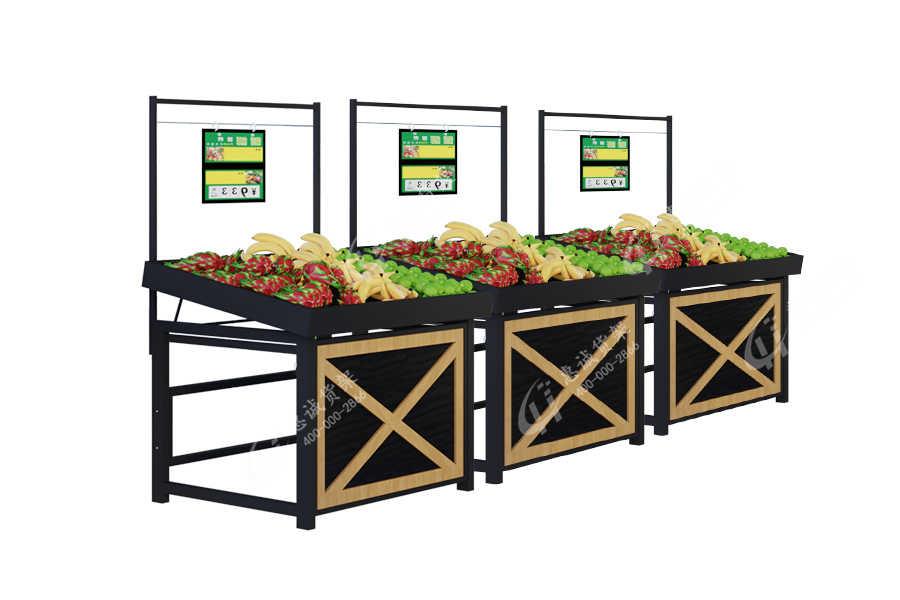 水果蔬菜货架摆放图片