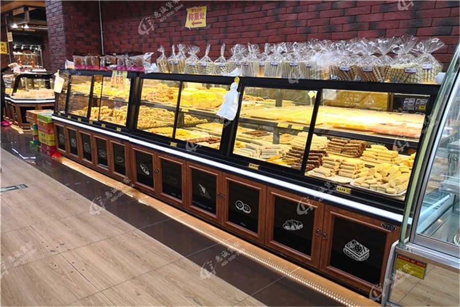 面包店货架