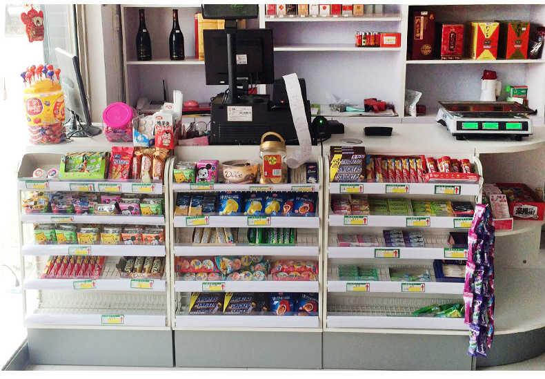 中药柜-药品货架-收银台