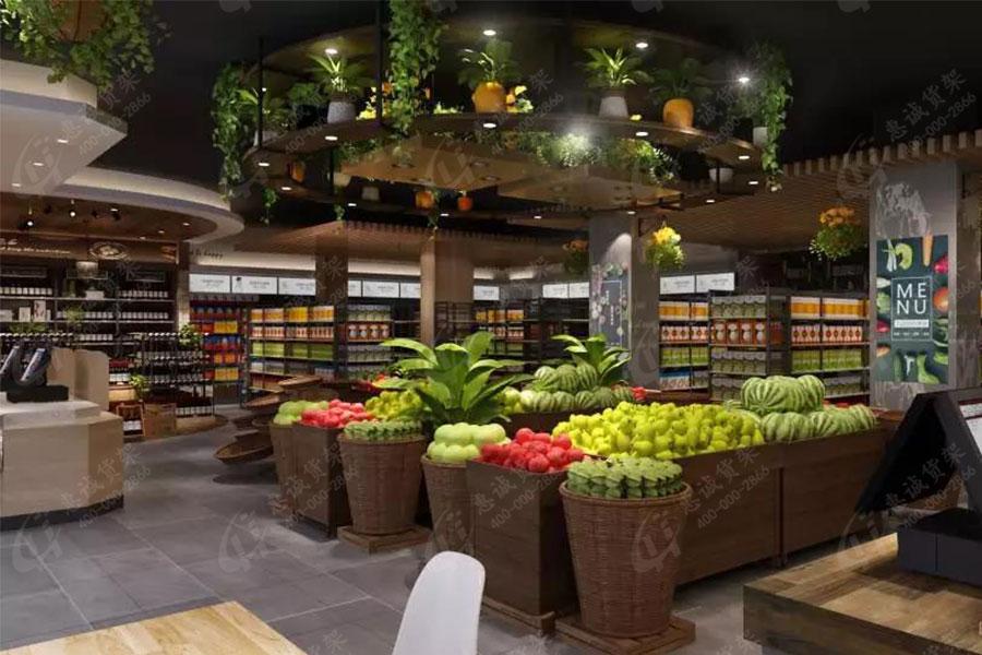 JOGO精品超市货架图片展示1-3