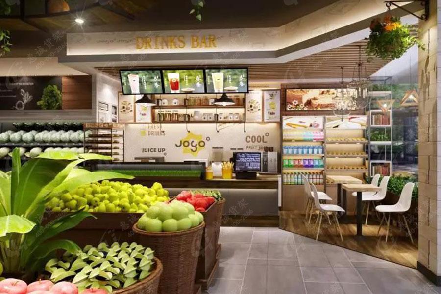 JOGO精品超市货架图片展示1-4