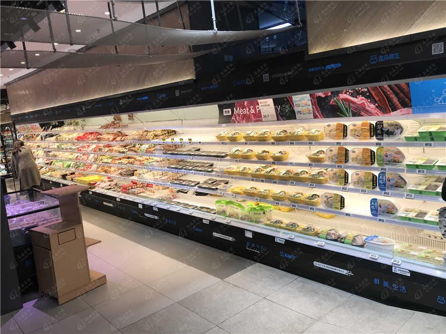 超市保鲜柜图片