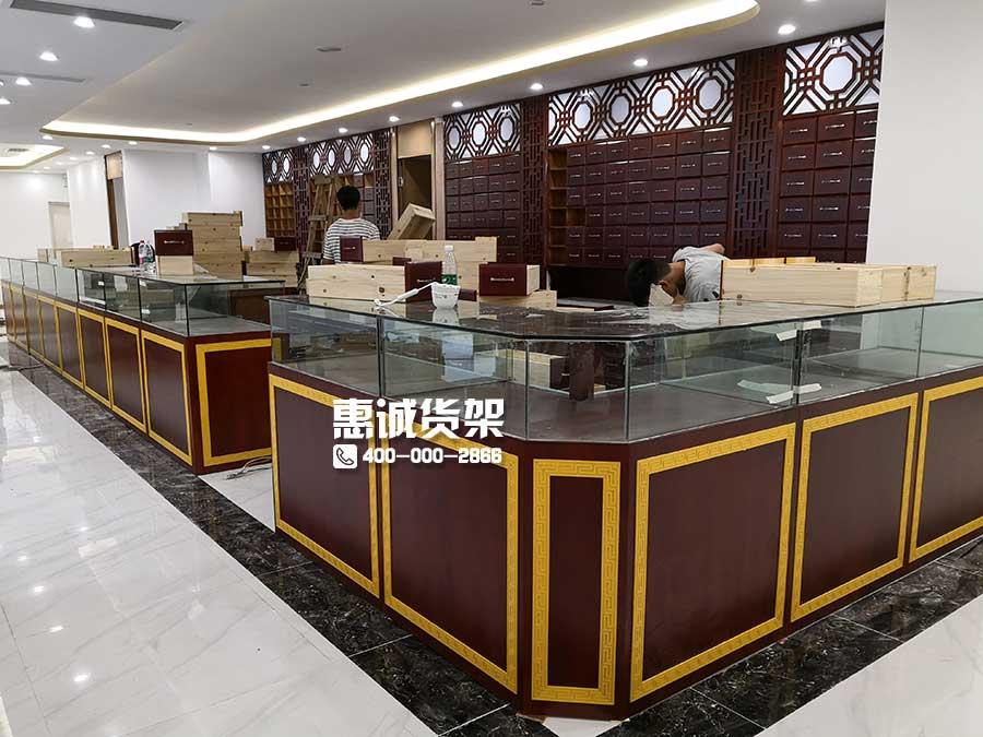 中药店货架图片