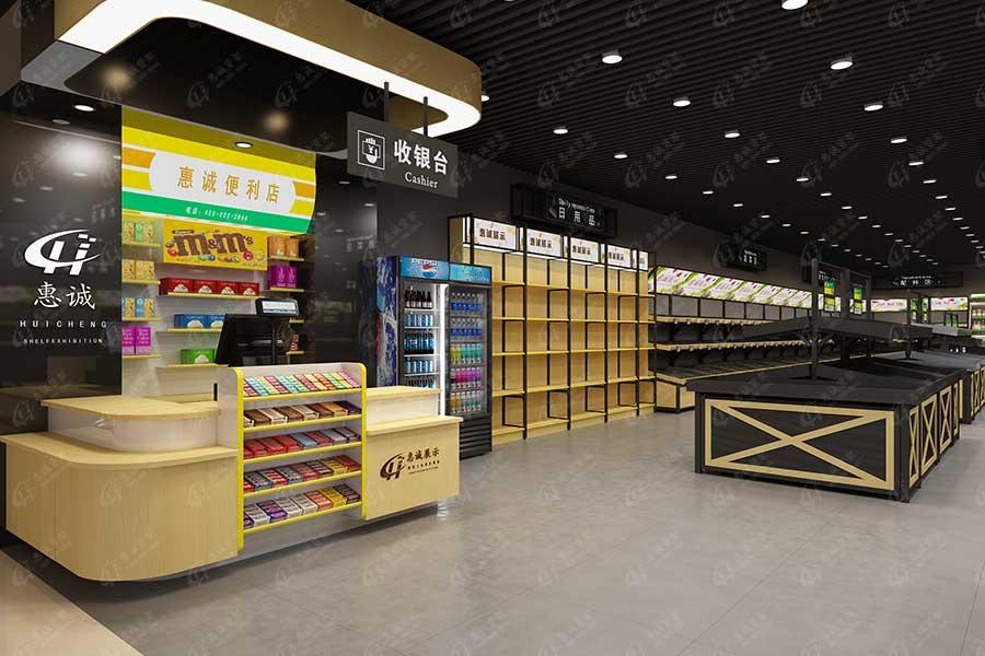 收银台厂家-广州收银台货架