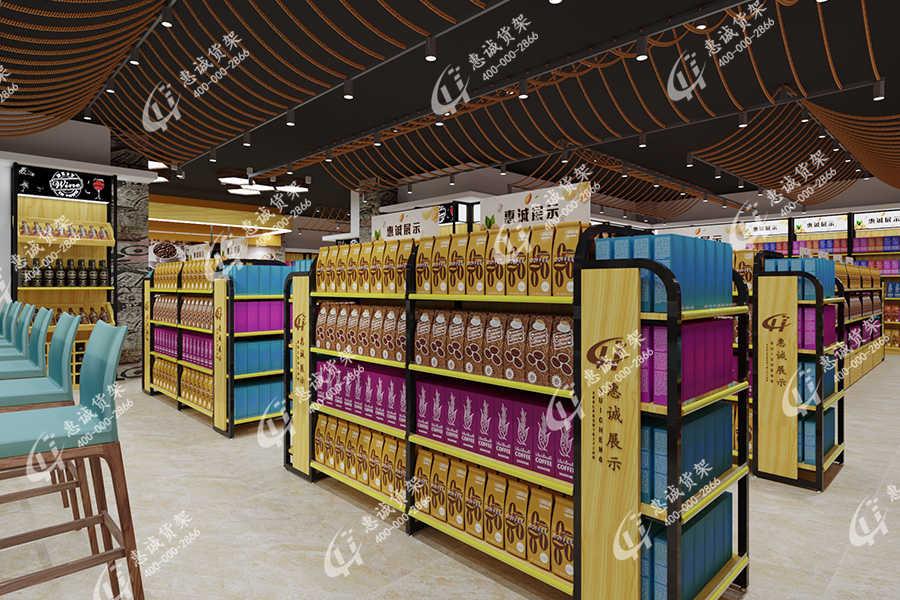 超市货架图片展示