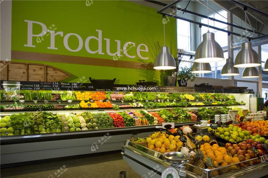 永辉超市生鲜陈列模式图片