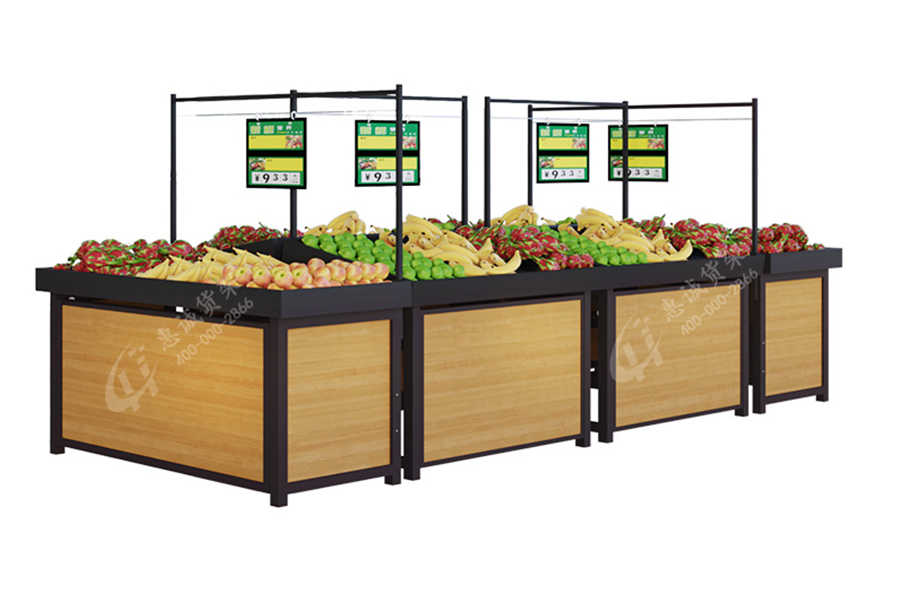 C style Supermarket Equipment/Fruits and Vegetable Racks/Display Stand