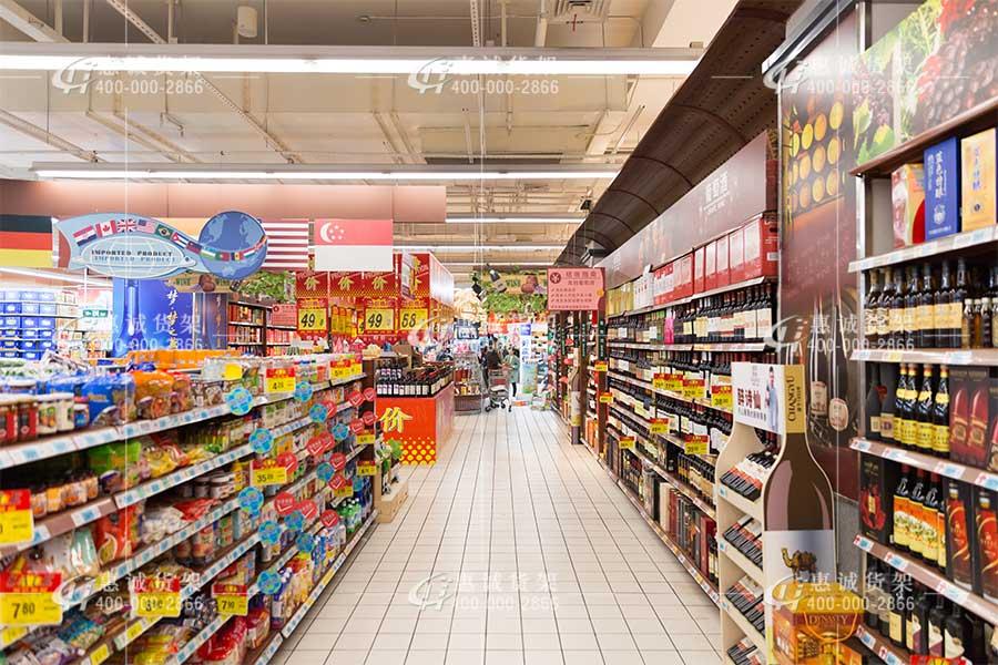 百惠小型超市货架图片