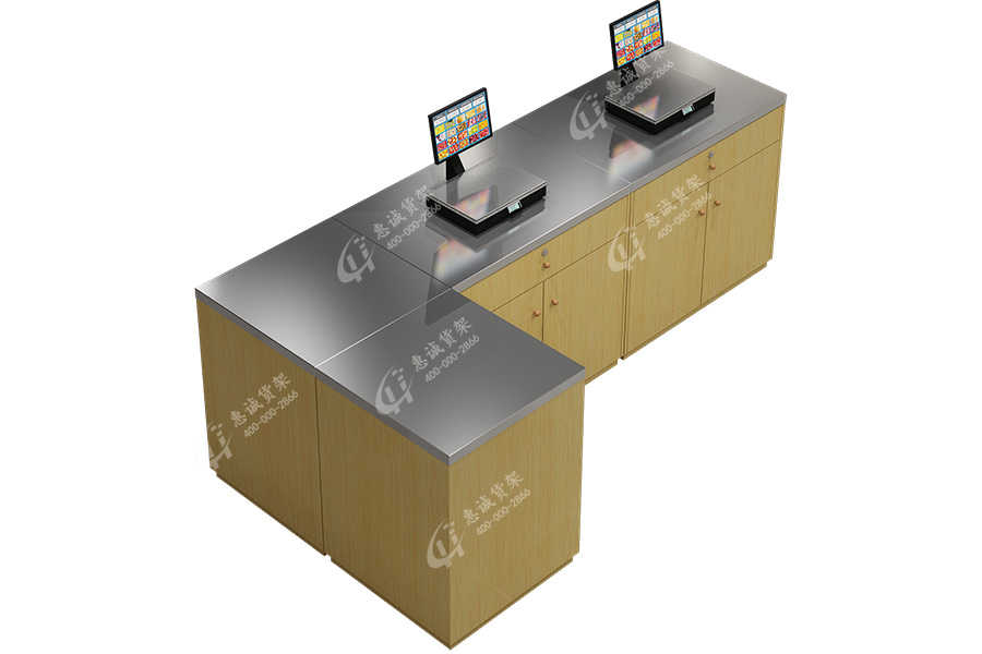 Supermarket convenience store weighing table-CL