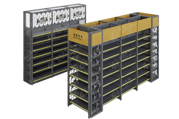 New style steel wood supermarket shelf/rack