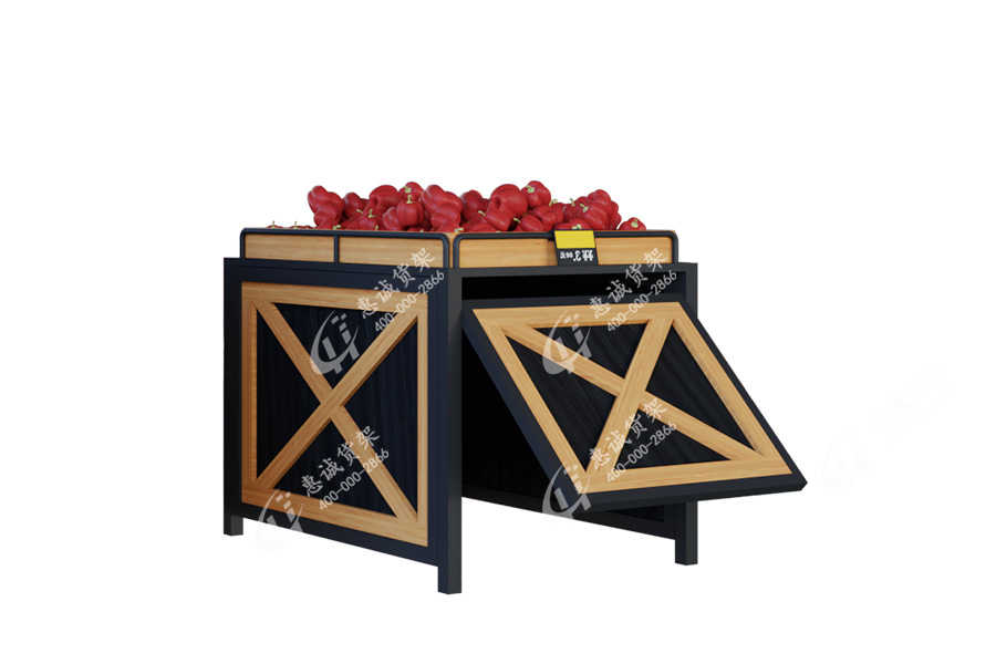 Supermarket shelf fruit display stand-CX