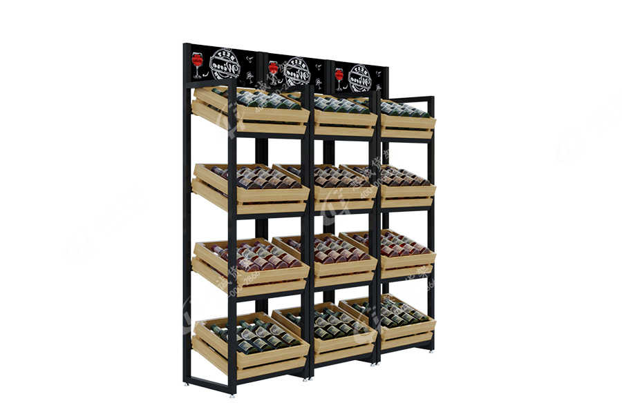 Huicheng Wine Shelf /Commonly Used Wine Rack _HJ